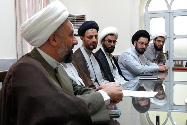 جلسه بسیج در حوزه علمیه یزد برگزار شد+تصاویر