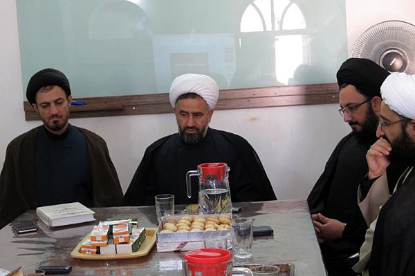 بازدید مدیر حوزه علمیه یزد از مدرسه علمیه خان+عکس