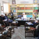 تصاویر کمیته همکاری حوزه علمیه یزد و آموزش و پرورش استان
