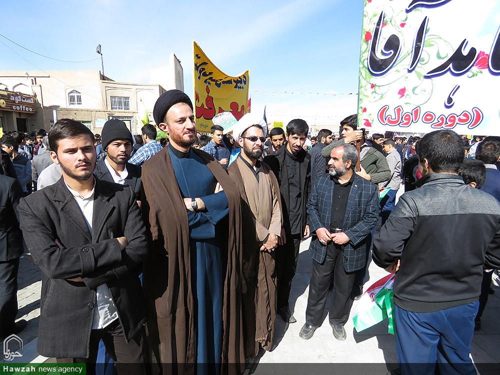 عظمت حضور مردم دارالعباده در راهپیمایی ۱۳آبان