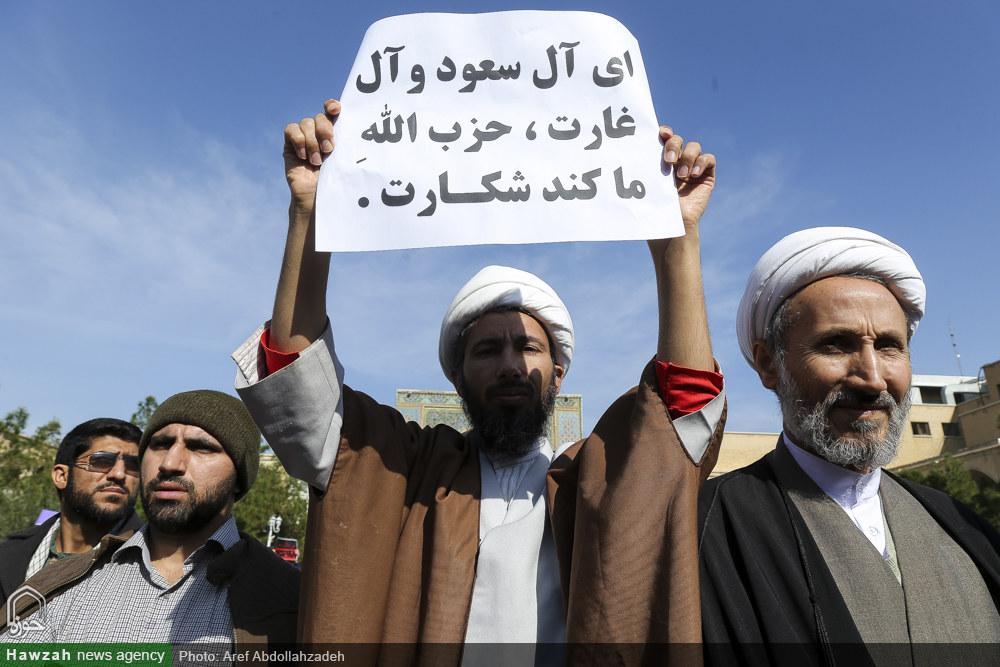 تجمع روحانیون و طلاب یزد در حمایت از مردم مظلوم یمن برگزار می شود