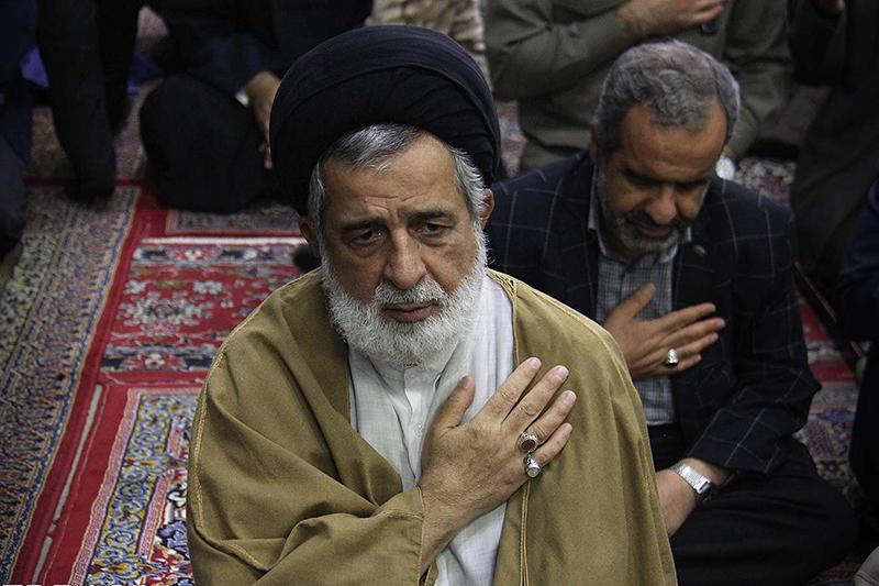 تصاویر مراسم بزرگداشت حجت الاسلام دهقانی شهید مدافع حرم یزد
