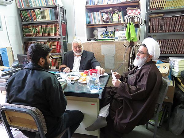 برگزاری چهاردهمین دوره آزمون شفاهی در حوزه یزد +تصاویر