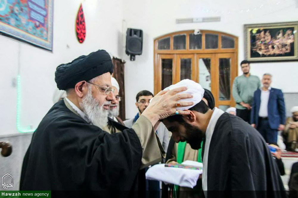 تصاویر/ تلبس طلاب حوزه علمیه یزد