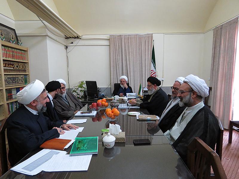 جلسه شورای حوزه علمیه یزد برگزار شد