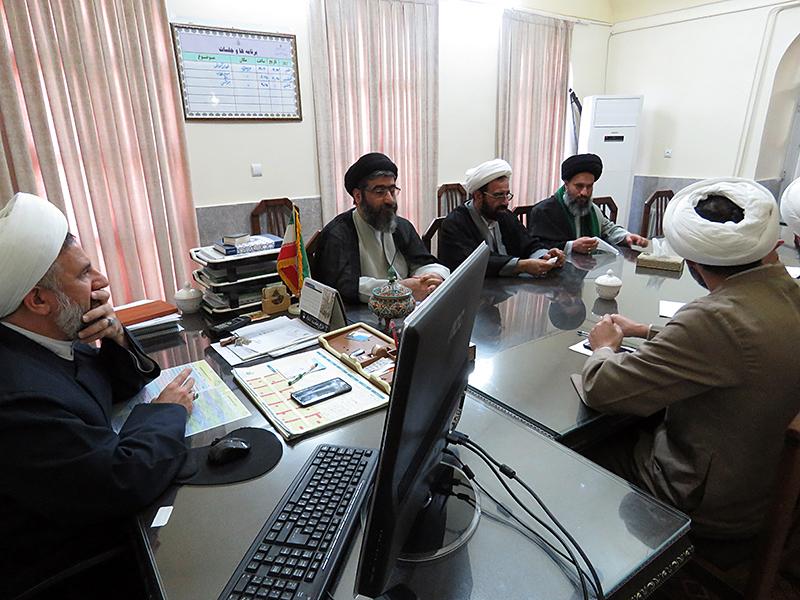 جلسه شورای آموزش حوزه علمیه استان یزد+ تصاویر