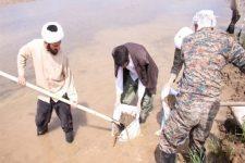 اعزام بيش از ۳۰۰ طلبه یزدی به مناطق سیل زده