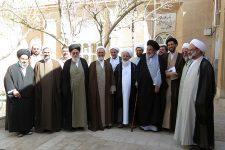 تصاویر جلسه شورای حوزه علمیه یزد با حضور آیت الله اعرافی