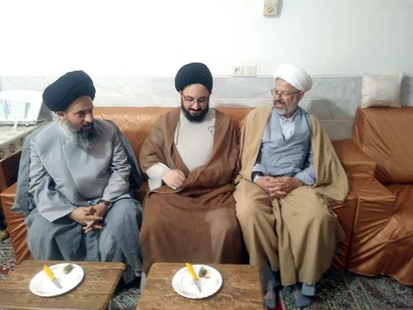تصاویر / تجلیل از اساتید حوزه علمیه استان یزد