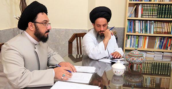 دروس اقتضایی مدارس علمیه استان یزد بررسی شد
