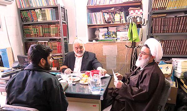 برگزاری آزمون شفاهی در حوزه علمیه استان یزد