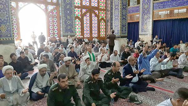 تصاوير / مراسم بزرگداشت مرحوم آیت الله قربانعلی محقق کابلی در مسجد حظيره يزد