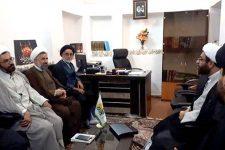 گزارش تصويري از بازديد و جلسات مسئول مرکز امور صیانتی حوزههای علمیه در يزد