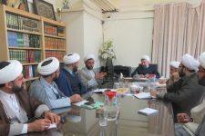 معاونان آموزش مدارس علمیه استان یزد گردهم آمدند