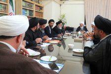 برگزاري جلسه شوراي حوزه علميه استان يزد