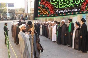 طلاب و روحانيون يزد ميزبان مراسم عزاداري سومين روز شهادت اباعبداللهالحسين(عليهالسلام) + پوستر