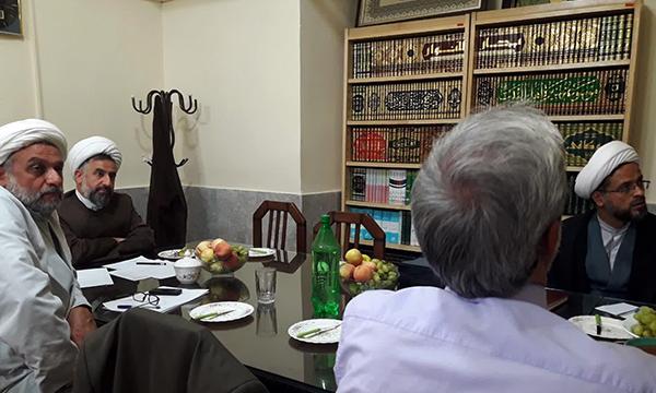 اولین جلسه شورای تخصصی دبیرخانه انجمنهای علمی حوزه در استان یزد برگزار شد. (معاونت پژوهش حوزه علميه استان يزد)