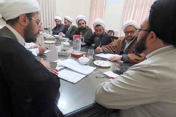 جلسه معاونین آموزش مدارس علمیه استان یزد