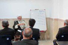 برگزاري جلسـه شرح و تفسیر نهج البلاغه در مدرسه علميه عبدالرحيم خان + تصاوير