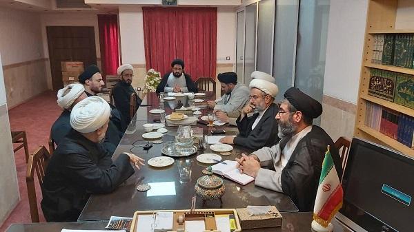 برگزاري جلسه شورای آموزش حوزه علميه استان يزد