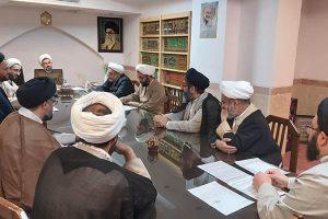 جلسه شوراي آموزش حوزه علميه استان يزد