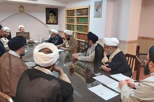 جلسه شورای آموزش حوزه علمیه استان یزد