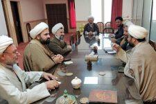 جلسه نهادهای حوزوی استان یزد در راستای پیشگیری از کرونا
