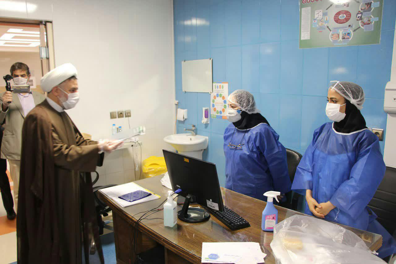 تقدیر مدیر حوزه علمیه استان یزد از کادر درمانی