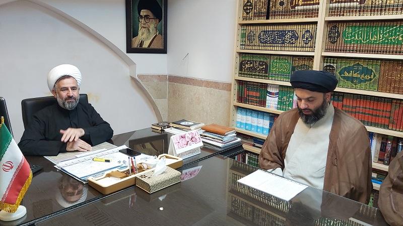 حجت الاسلام حسینی در مراسم تکریم خود گفت: رفتن این حقیر با درخواست خود بوده است