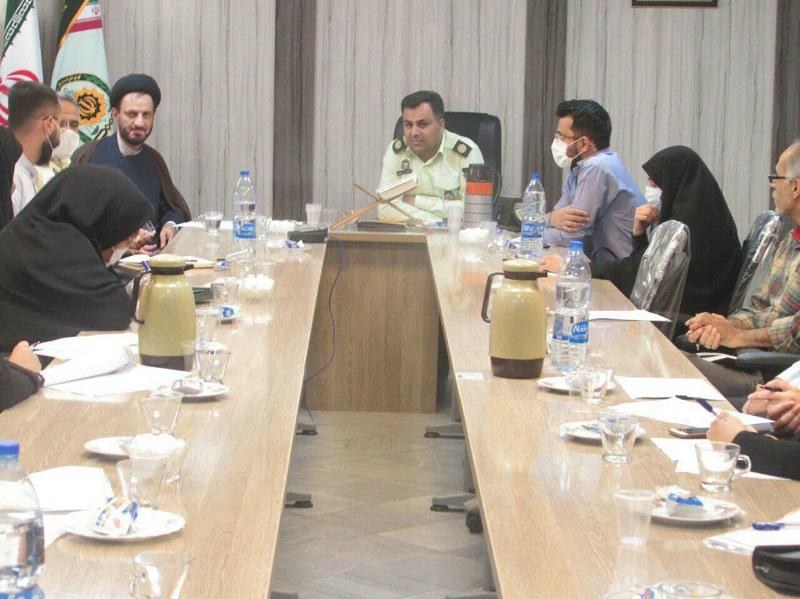جلسه معاون امور طلاب و دانش آموختگان حوزه علمیه استان یزد با مسئولین نظام وظیفه استان برگزار شد.