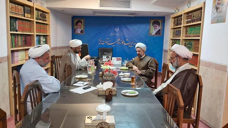 حجت الاسلام محمد فیاضی به عنوان دبیر شورای هماهنگی نهادهای حوزوی استان یزد انتخاب شد