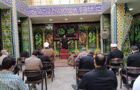 گزارش تصویری از مراسم عزاداری در مدیریت حوزه علمیه استان یزد