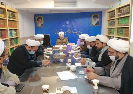 جلسه معاونین پژوهش مدارس حوزه علمیه استان یزد، در مدیریت حوزه استان برگزار شد.
