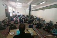 مراسم گرامیداشت هفته دفاع مقدس در حوزه علمیه میبد برگزار شد