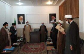 گزارش تصویری از مراسم تودیع و معارفه مدیر حوزه علمیه شهرستان مهریز