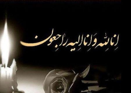 حجت الاسلام والمسلمین شمس در پیامی درگذشت مادر نماینده یزد در مجلس شورای اسلامی را تسلیت گفت.