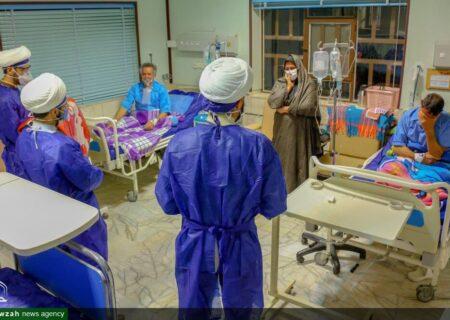 حضور طلاب جهادی در بیمارستان گودرز