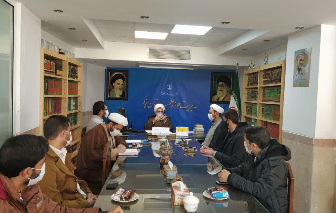 نشست صمیمی طلاب مدرسه مصلی با مدیر حوزه علمیه استان برگزار شد