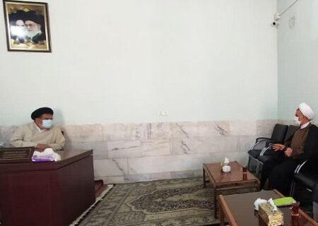 سفر یکروزه مدیر حوزه عملیه استان یزد به شهرستان بافق