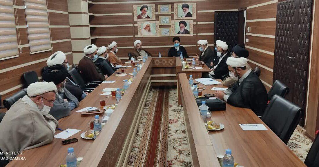 جلسه مدیران علمیه استان برگزار شد