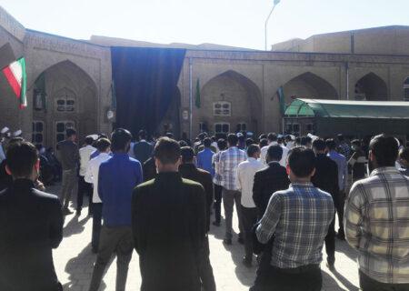 طلاب و روحانیون یزد کشتار نمازگزاران افغانستان را محکوم کردند